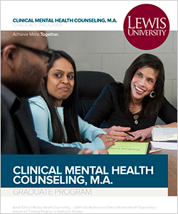 Clinical Mental Health Counseling masters program; Counseling psychology degree