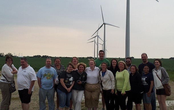 The Green and Renewable Energy Workshop (GREW) was held at Lewis University.