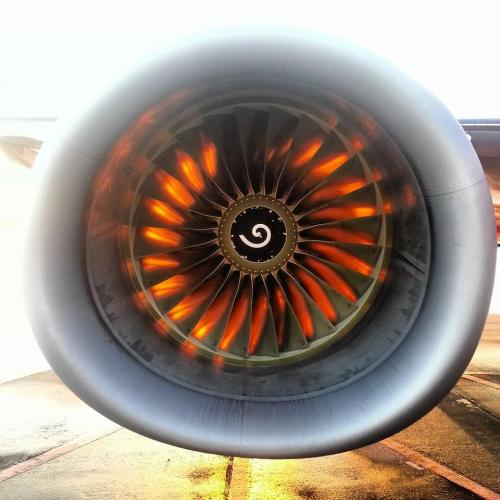 Engine Sunset