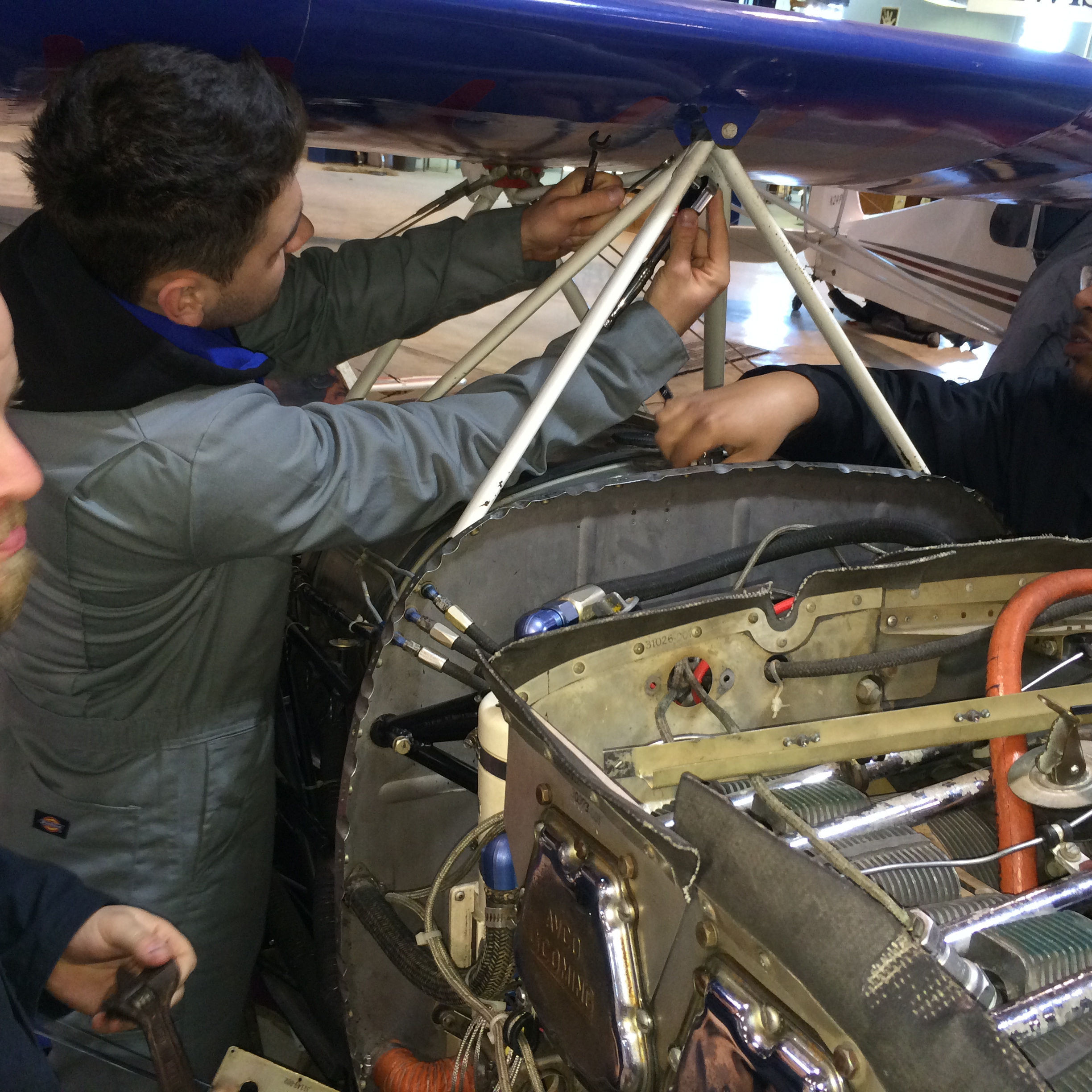 Lewis Aviation and Aerospace Students Overhaul Fleet