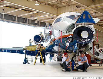 Aircraft Mechanic college field of study list