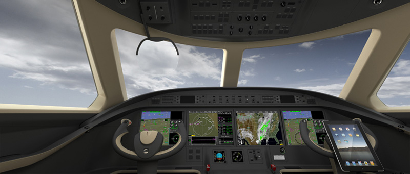 iPad-Controlled-Gulfstream-G550-Private-Jet-2