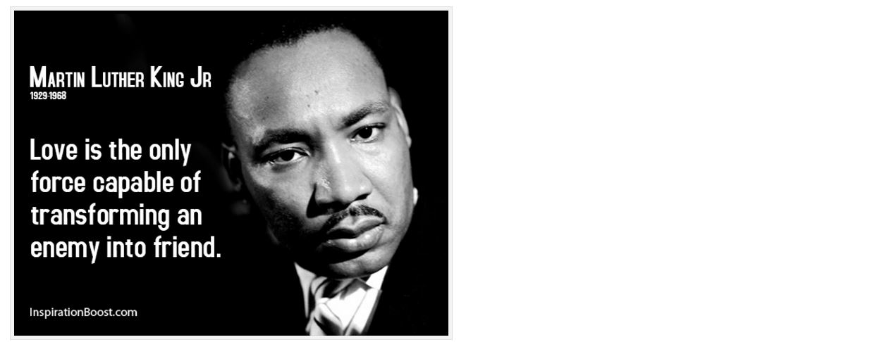 Dr. King, Justice and Compassion: What Are We So Afraid Of?