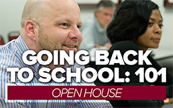 Register for the Adult Undergraduate and Graduate Open House on April 1.