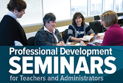 Half-day seminars in June and August
