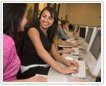 Computer science students attend Women in Computing Conference