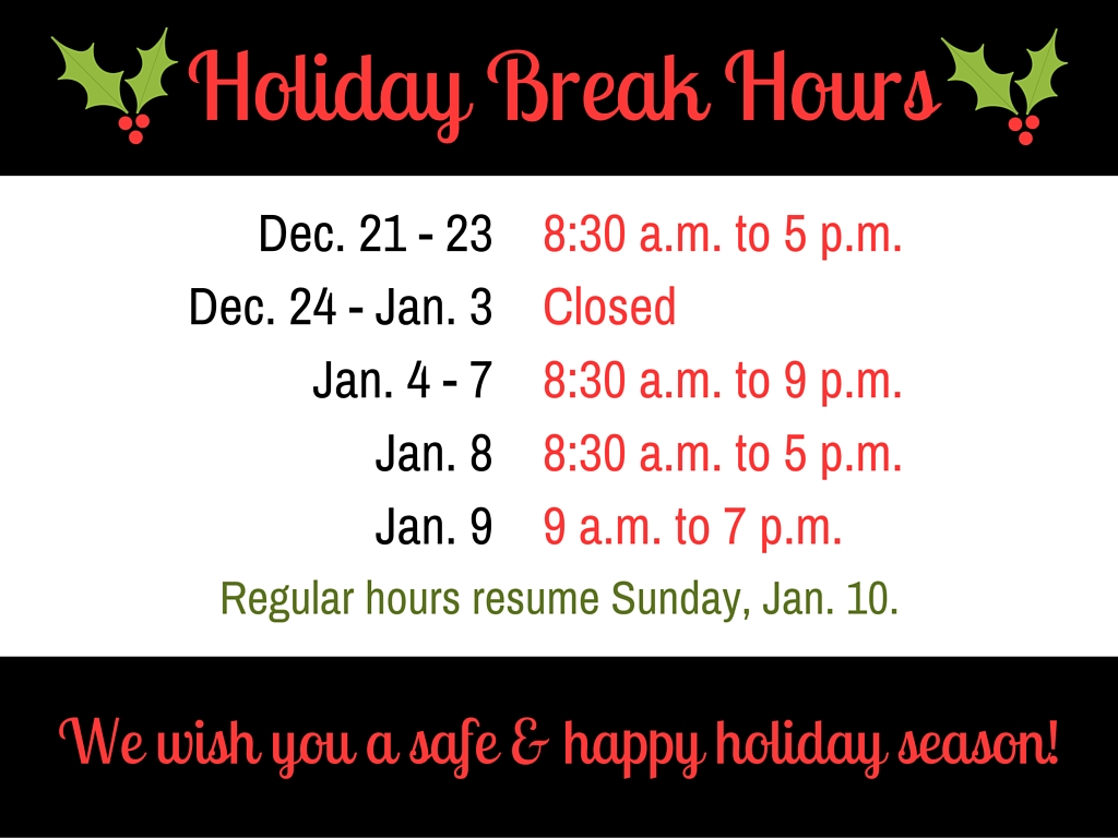 holiday hours final