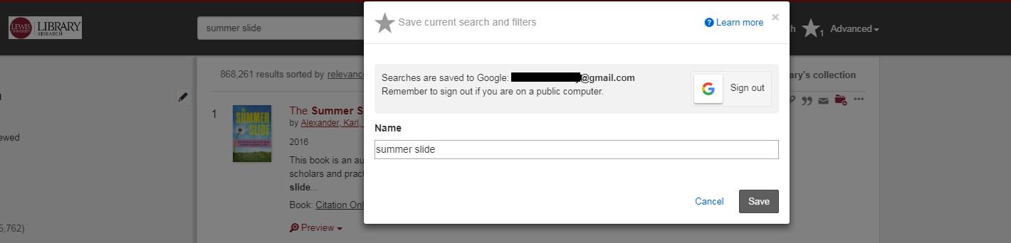 Sign in to Google Drive.