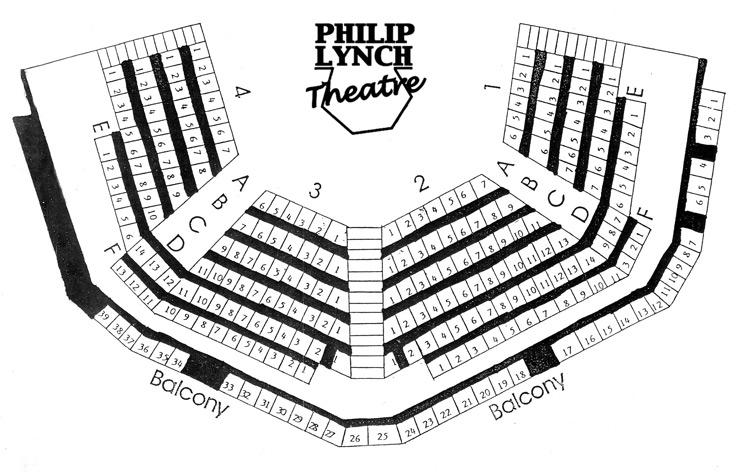 Philip Lynch Theatre Seating