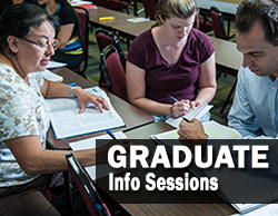 Graduate Information Sessions