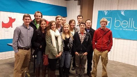 Communications and Computer Science Students Visit Chicago Startup