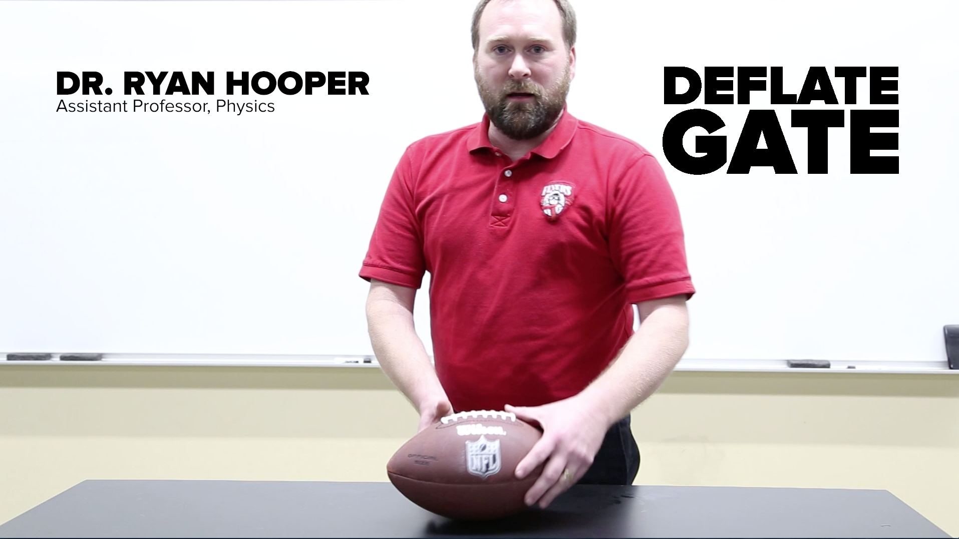"""Physics professor lets the air out of """"deflate-gate"""" controversy"""