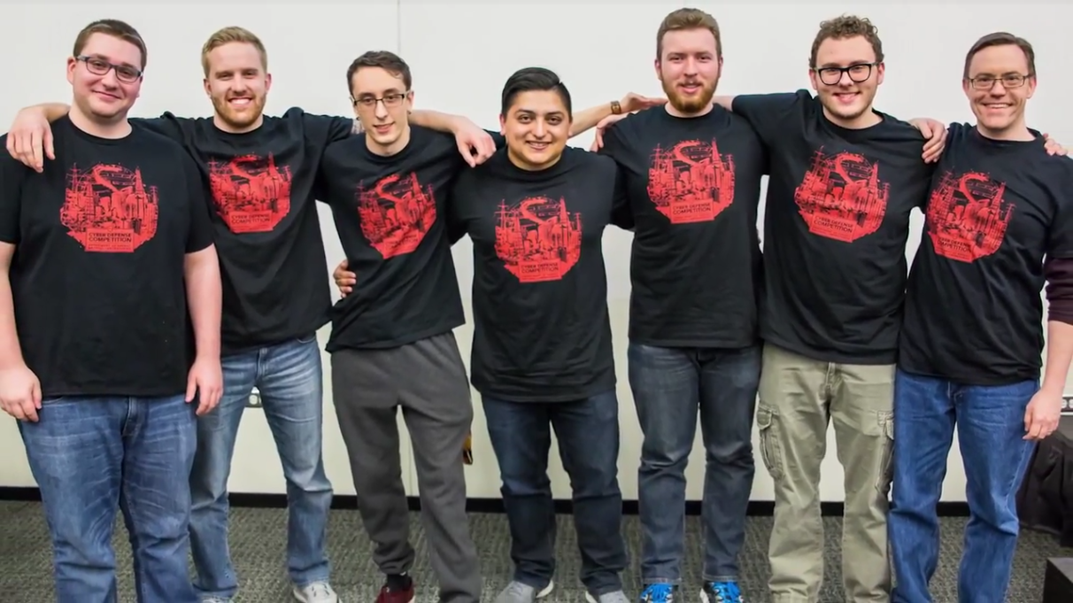 Lewis Computer Science Students Win At National Cybersecurity Competition (and at learning)