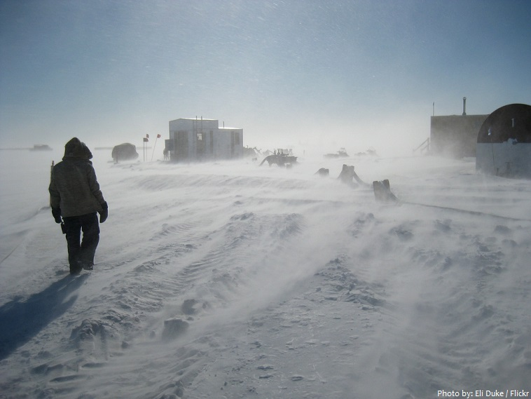 Postcards from the Ice: Is it Really as Cold as Antarctica?