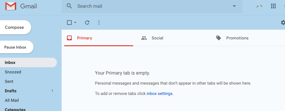 The Therapeutic Effects of the Empty Inbox
