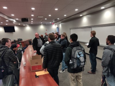 Computing Careers Panel Inspires Students