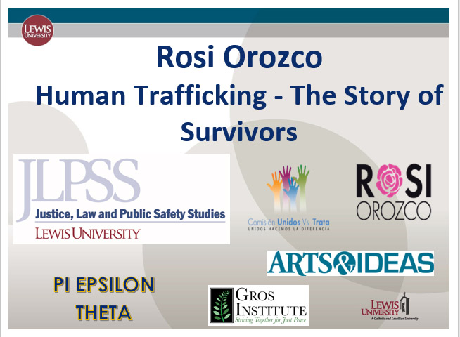 Mexican Human Rights Activist Rosi Orozco Presents at JLPSS Arts and Ideas Event