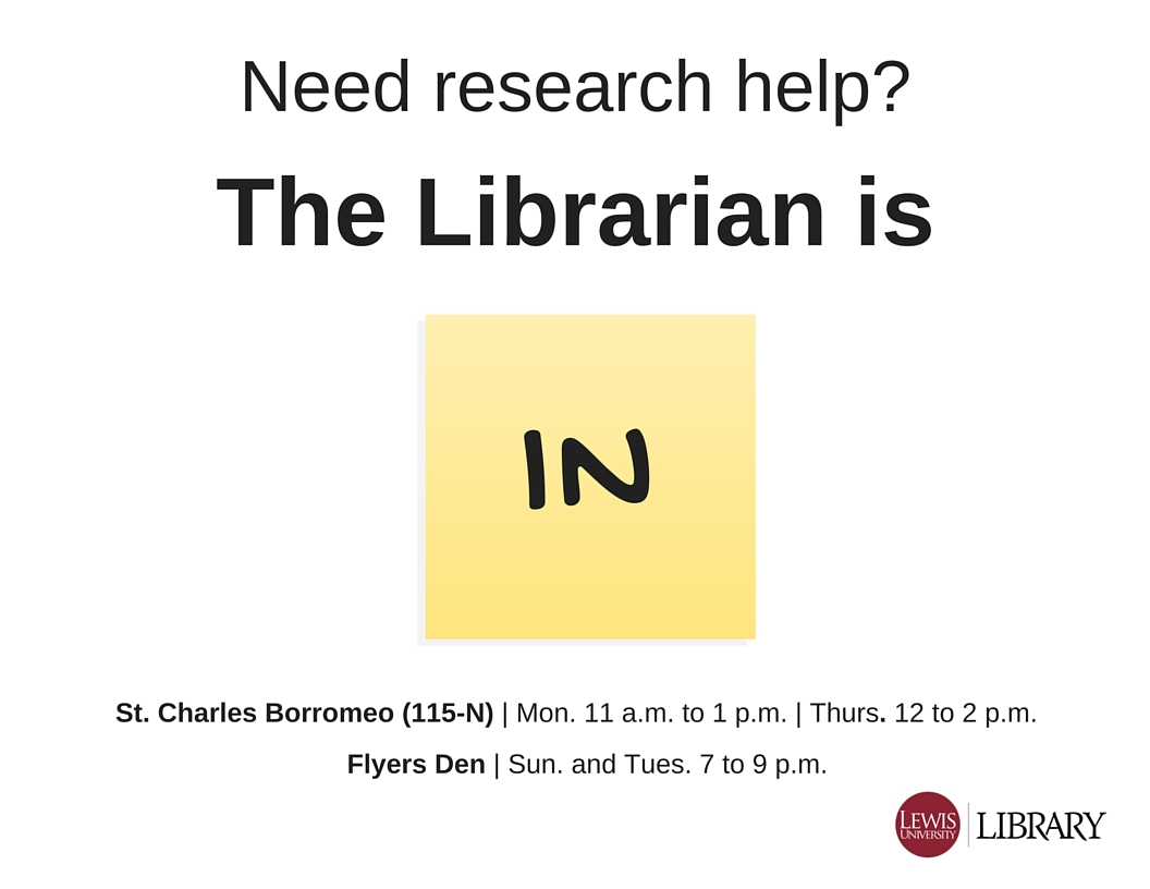 The Librarian Is In blog graphic