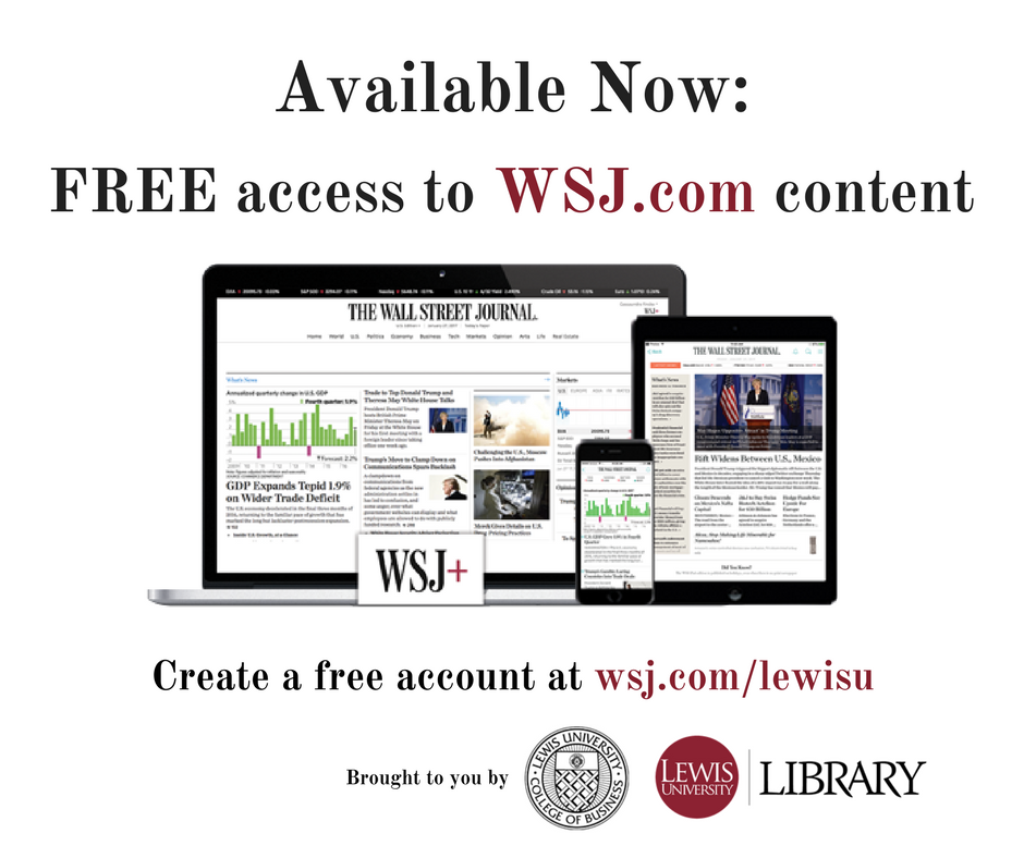 Free access to WSJ.com.